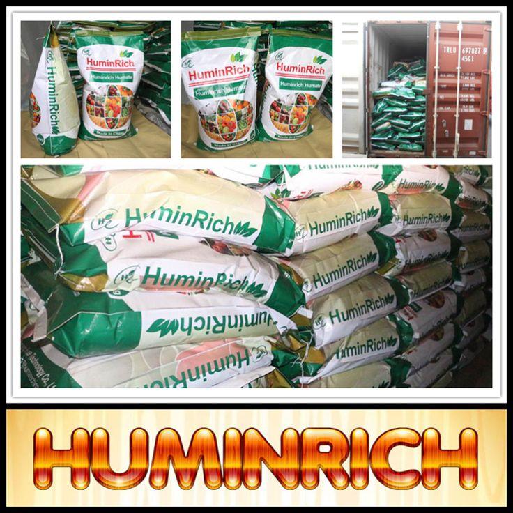 """HuminRich"" Shenyang 60% K2O Humic Acid Black Powder Chemical Formula"