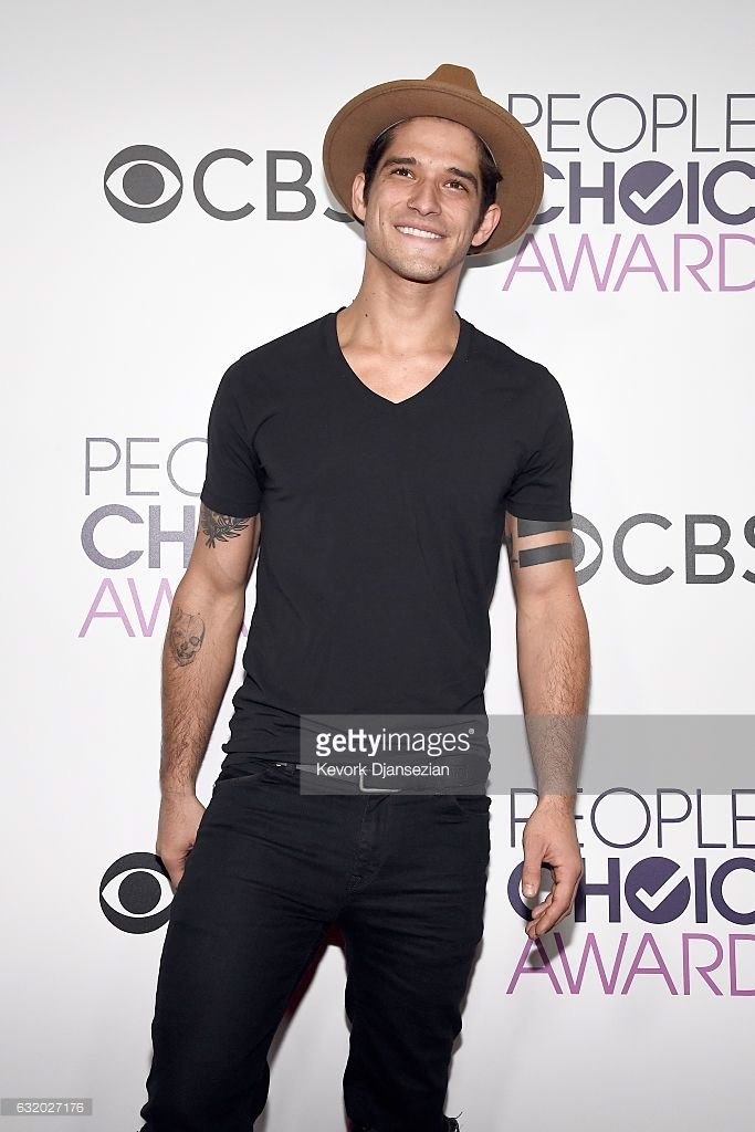 Actor Tyler Posey poses in the press room during the People's Choice Awards 2017 at Microsoft Theater on January 18, 2017 in Los Angeles, California.
