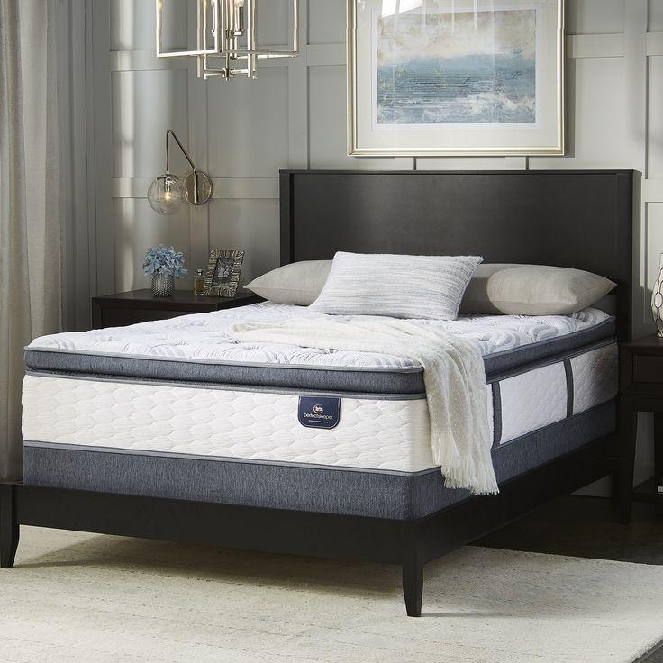 Serta Perfect Sleeper Wayburn 12-inch Super Pillowtop Twin-size Mattress (Twin), White