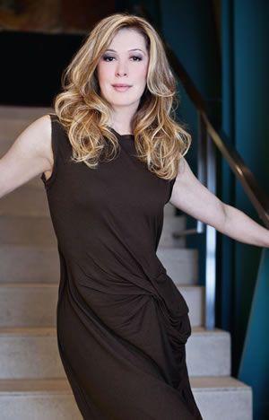 Claudia Raia dark brown dress