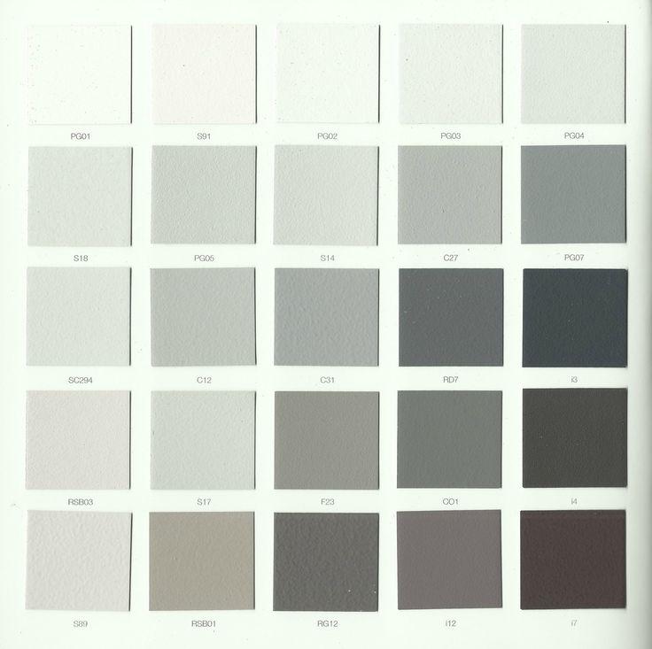 17 melhores ideias sobre nuancier gris no pinterest - Nuancier peinture grise ...