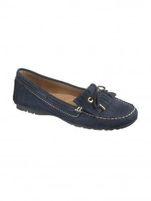 Sebago Meriden Kiltie Shoe Navy