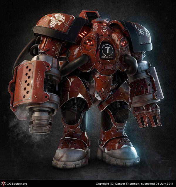 Increíbles trabajos de Robots CG para tener ideas #inspiration #3D #CG