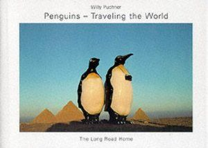 Penguins-Traveling the World with Poster by Willy Puchner. $0.71