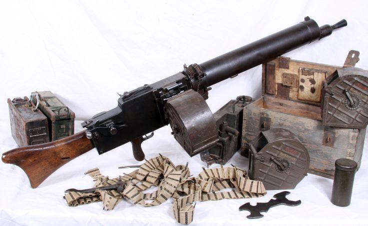 Image result for ww1 german maxim machine gun