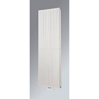Ximax Aurora Duplex Designer Radiator 1800 x 600mm White | Designer Radiators | Screwfix.com