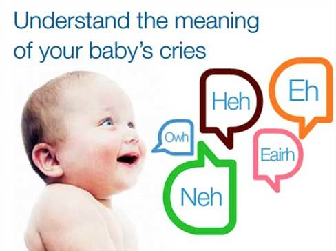 Dunstant Baby Language - Understand the meaning of your baby's cries