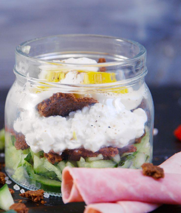 Sandwich im Glas von Hannah Kocht Einfach