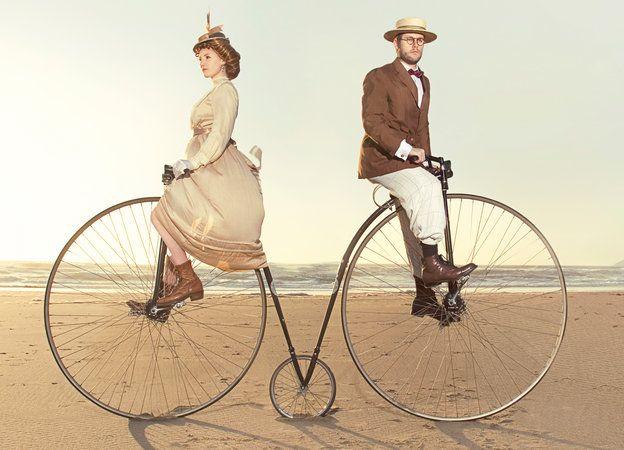 vintage bikes #eSpokes