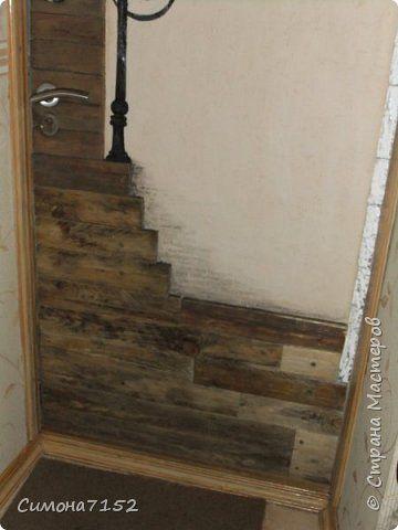 Переделка входной двери   благодаря любимой собаке Дерево Картон Краска фото 2