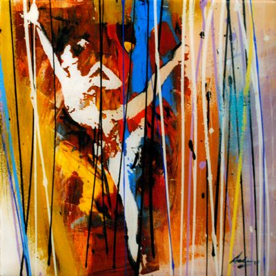 Ballerina Series - painting by Pietro Adamo at Crescent Hill Gallery