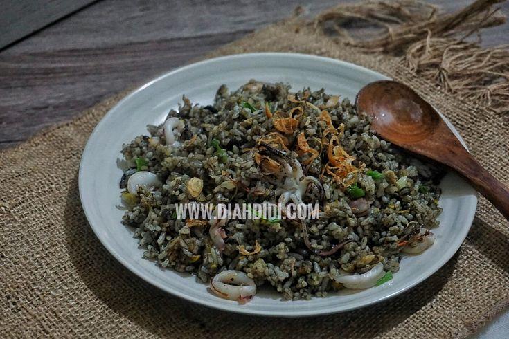 Diah Didi's Kitchen: Nasi Goreng Hitam