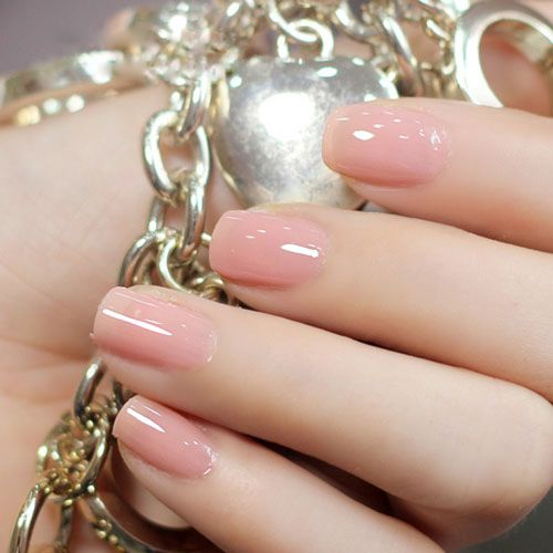 25+ best Soft pink nails ideas on Pinterest | Light pink nails ...