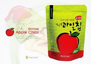 아비삭과일칩-사과14g   $3