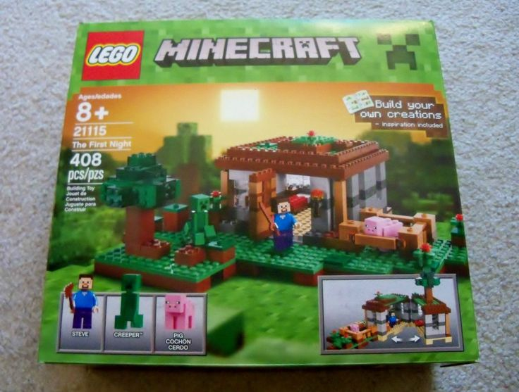 LEGO  Minecraft  21115 The First Night  New & Sealed  Ready to ship