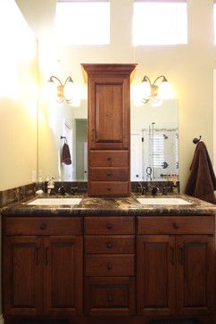 bathroom design center 4. Another Double Sink And Center Cabinet Idea. Bathroom Design 4