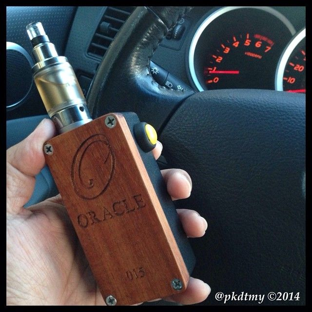 Box Mod Dual 18650 to 6 volts coil