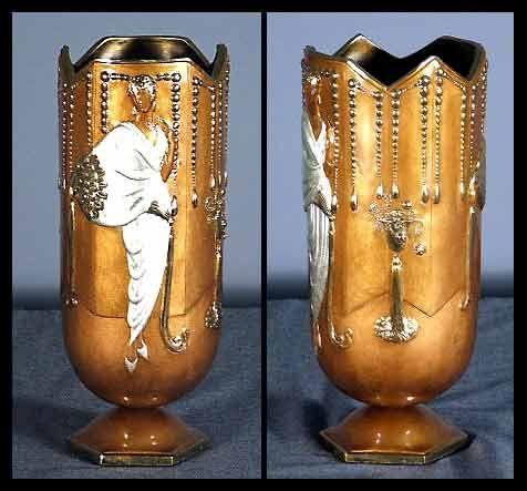 The 471 best images about erte on pinterest sculptures for Vase antique romain