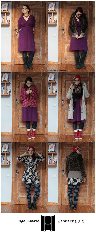 unarmarioverde.es - Winter 2018 capsule wardrobe outfits - January 2018 - Riga, Latvia