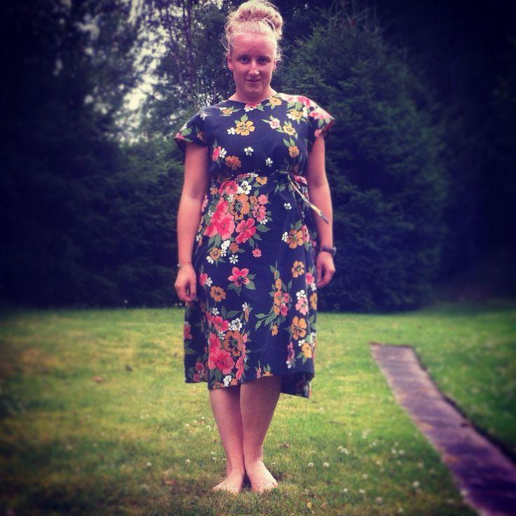 Dress, 40s pattern