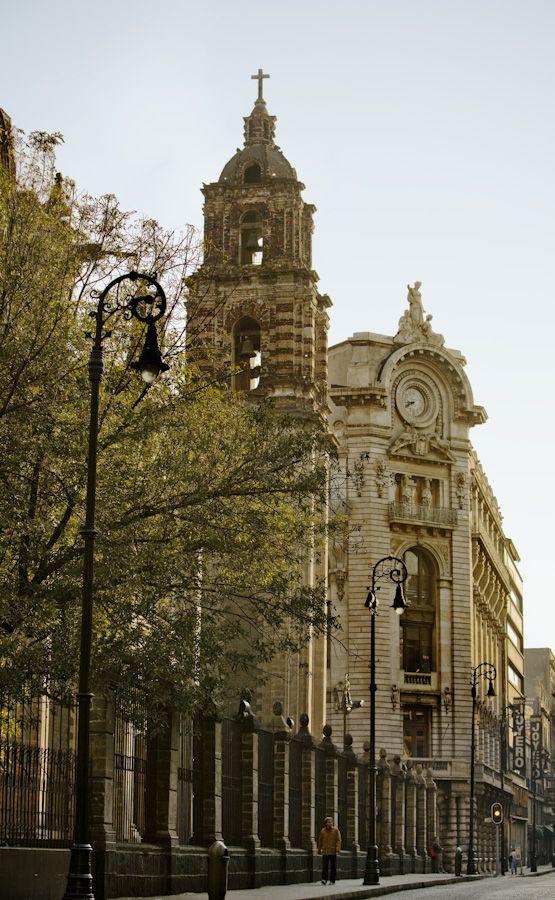 Centro Histórico de la ciudad de México. Mexico City, Historic Center. #travel #architecture