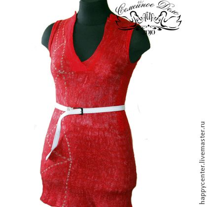 """Платье валяное """"Бастет"""" Nunofelting. - женская одежда,войлок,войлок ручной работы"""