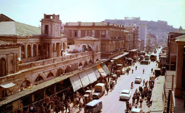 Η οδός Αιόλου τη δεκαετία του '60