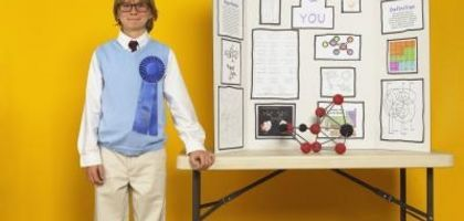 Easy One Day Middle School Science Fair projects.   Would be good to use to help introduce parts of the scientific method.
