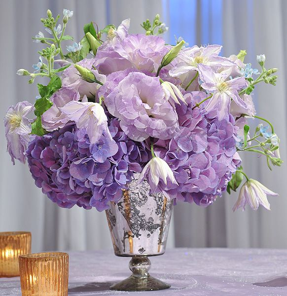 Romantic Floral Accent Piece | Inspirations Tablescape Centerpiece www.tablescapesbydesign.com https://www.facebook.com/pages/Tablescapes-By-Design/129811416695