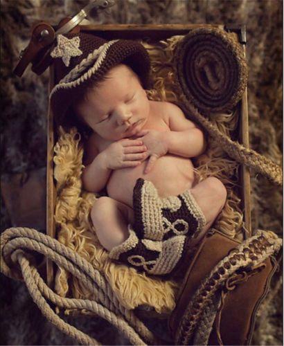 Fotoshooting Baby Fotografie Strick Kostüm Häkelkostüm Neugeborenen Set SFR