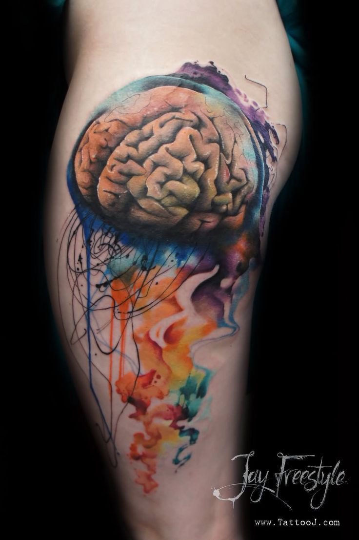 14 best Realistic Jellyfish Tattoo images on Pinterest ...