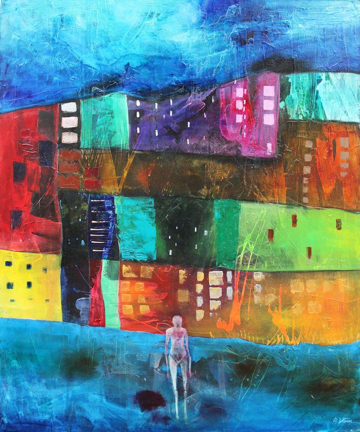 Shizma IV, 100x120 cm,2012, oil on canvas, Barbara Hacura