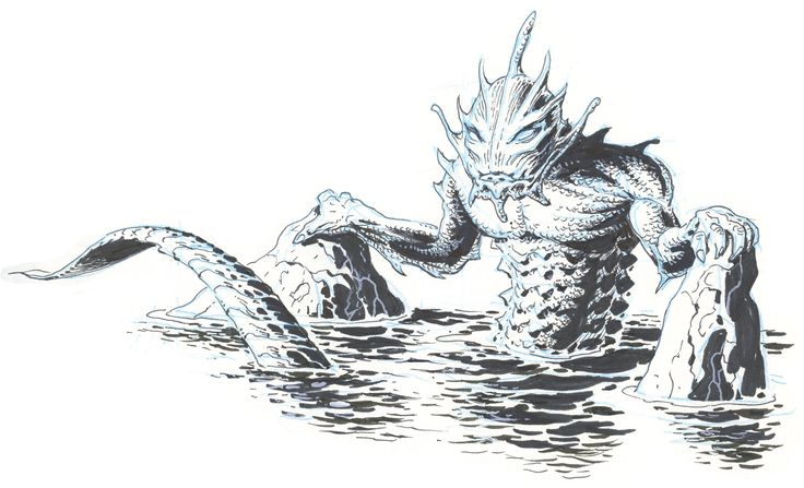 The Raedian Merman ... he emerged from the water and rested. As always he pondered the nature of the division between the two worlds. Those worlds were very different from each other, yet they both teemed with life, and a being like himself could cross the border easily between the two. Did that make him privileged or special in some way? Or rather, did it make him uniquely alone, being not wholly of one world or the other? And so he pondered ...