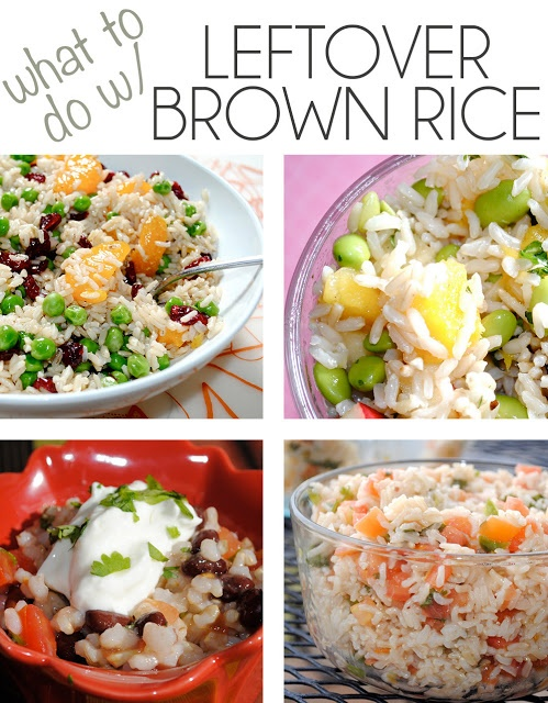 Left over Brown Rice