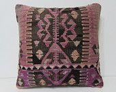 aztec pillow cover 18x18 moroccan style floor cushions bohemian cushion cover kilim pillow cover handmade pillow bohemian pillow cover 27816