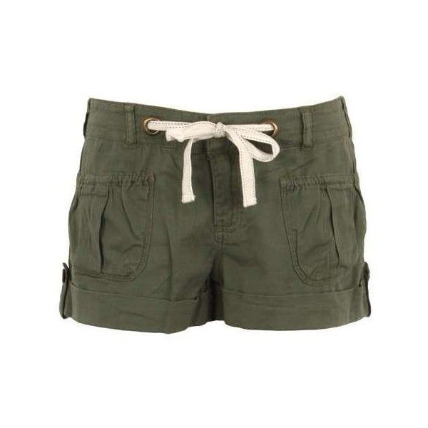 Cargo shorts women green ❤ liked on Polyvore featuring shorts, short, green shorts, green cargo shorts, short shorts, cargo shorts and short cargo shorts