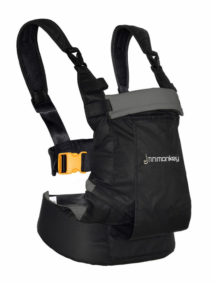 Ergonomic, safe and comfortable Baby Carrier - bears weight on hip, back and abdomen, instead of shoulders. Minimonkey Dynamic Baby Carrier $139.95