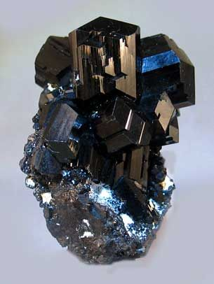 Schorl (Black Tourmaline), Erongo Mountains, Namibia   mw