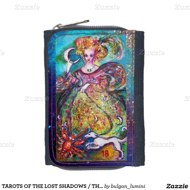 TAROTS OF THE LOST SHADOWS / THE MOON LADY WALLETS