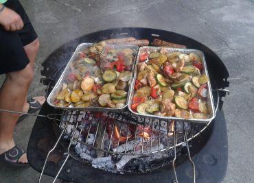 Grilovaná zelenina všeho druhu