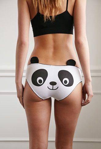 Panda Bear Bikini Panty | Forever 21 - 2000155420