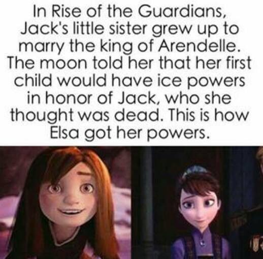 That means Jack is Elsa's uncle, that's just so wrong after all of the fanfic I've read on them