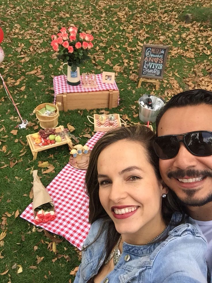 La sorpresa más linda de mi vida #picnic #parquelvc #6meses #26dejulio #chiquiplum. Te amo infinito