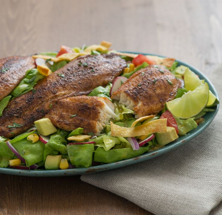 17 best images about main course salads on pinterest for How to make blackened fish