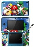 Super Mario 64 DS Game Skin for Nintendo 3DS Console Reviews - Super Mario 64 DS Game Skin for Nintendo 3DS Console      Comes with 3 pieces that cover the front and inside of your Nintendo 3DS, DOES NOT cover the screenNon permanent adhesive backing