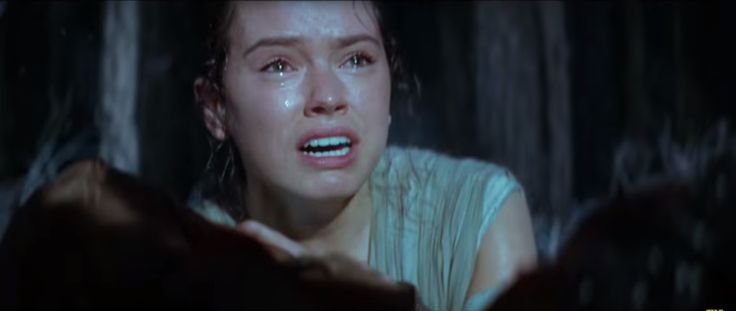 Someone dies? Rey cries?:
