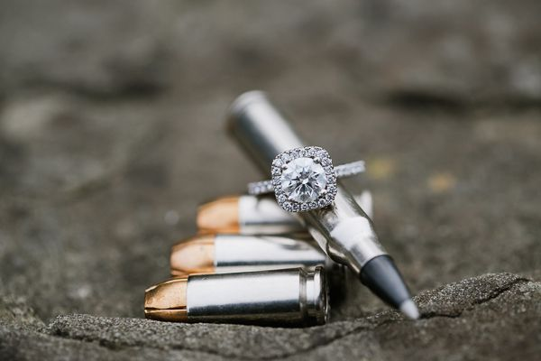 San Francisco SWAT Engagement Shoot by Jasmine Lee Photography
