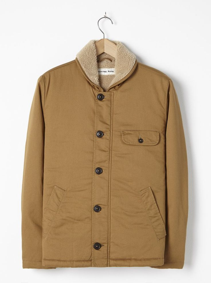 Universal Works N1 Jacket in Camel Twill