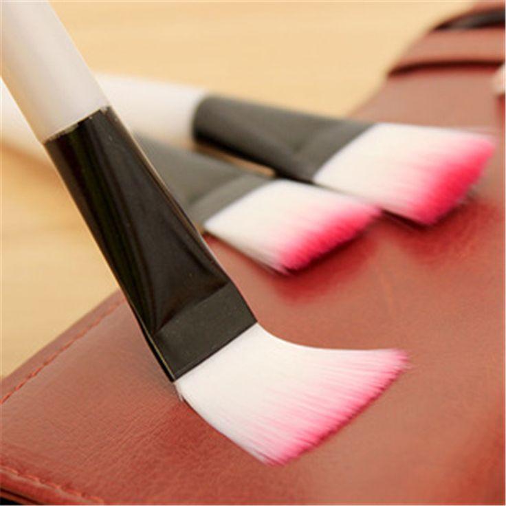 1PCS Mini Makeup Brushes For Women Cosmetic Tools Girl's Foundation Blush Brushes Beauty Tools Flat Brush Pinceis Maquiagem