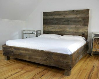 les 25 meilleures id es de la cat gorie t tes de lit rustique sur pinterest bricolage de bois. Black Bedroom Furniture Sets. Home Design Ideas